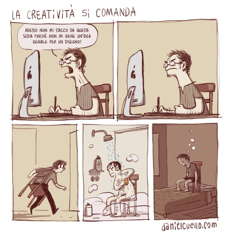 La creatività di comanda