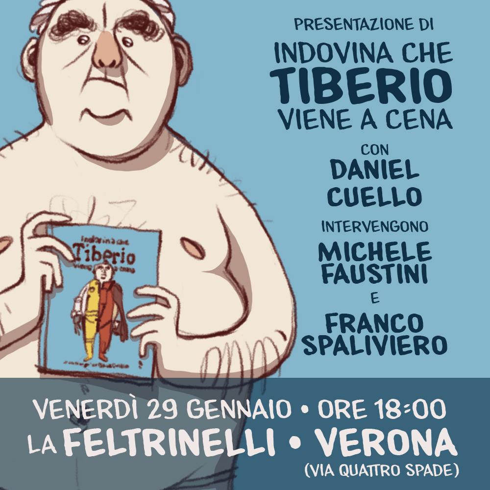 Tiberio a Verona!