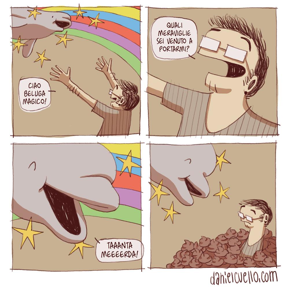 Il beluga magico