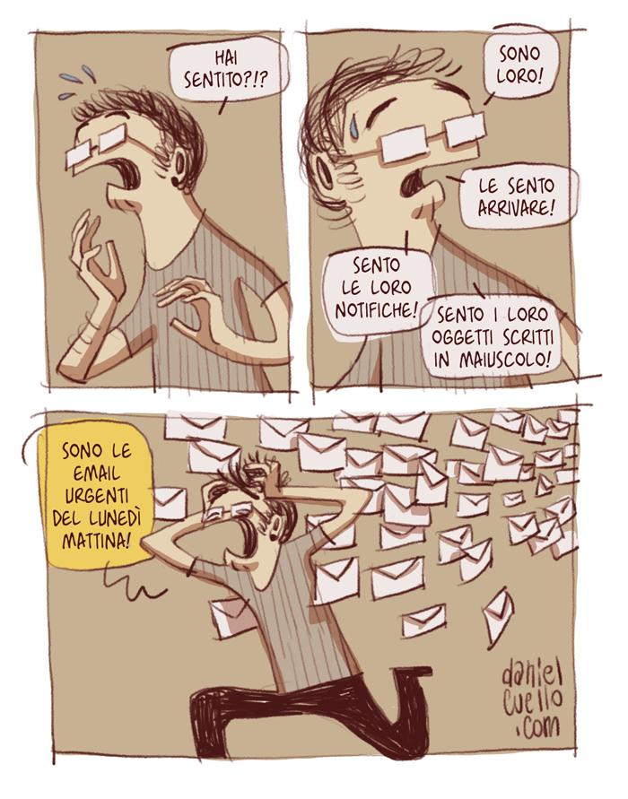 Le mail urgenti